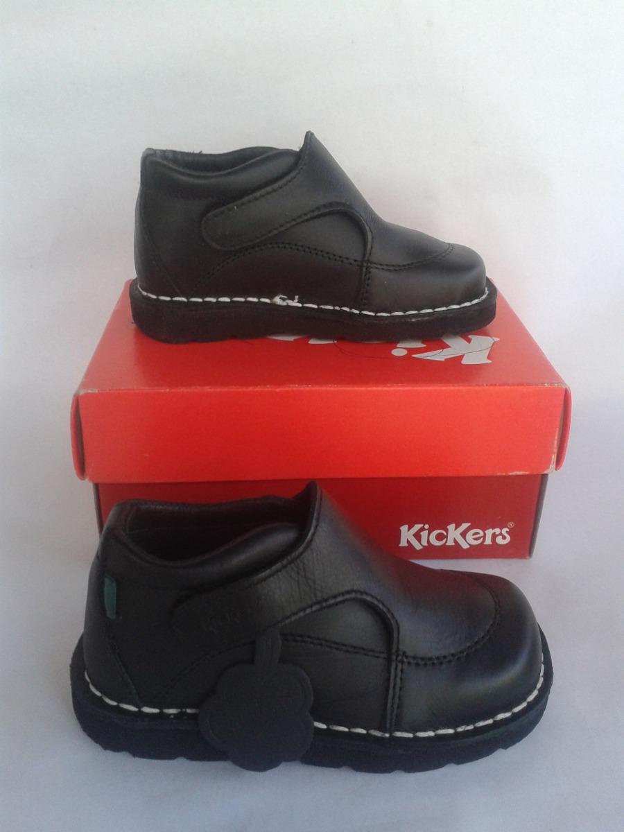 8bf19c64013 niños kickers zoom para zapatos escolares negros Cargando Twcqcf6g
