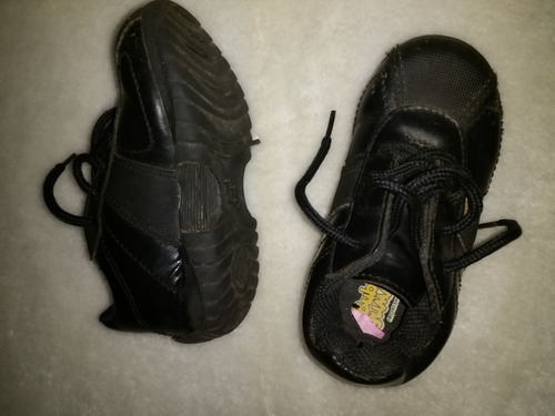 zapatos escolares  negros talla 24  unixed  niña niño