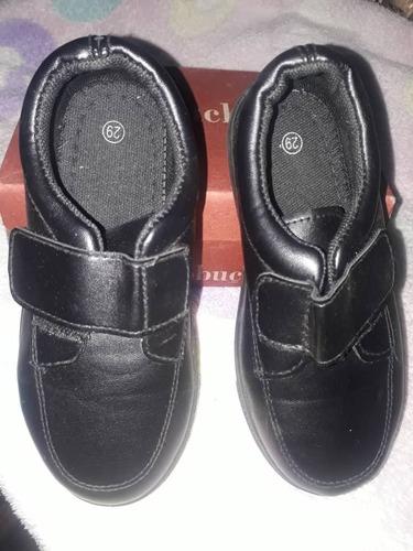 zapatos escolares para niños talla 29