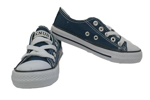 zapatos estilo convers knub (horma pequeña)