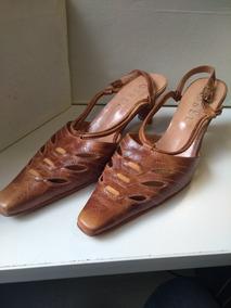 5712683a Zapatos Numen, Cuero Marron Otros Estilos - Sandalias de Mujer en ...