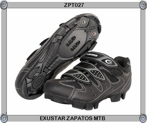 zapatos exustar de montaña mtb e-sm324 para ciclistas