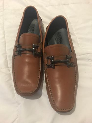 zapatos ferragamo originales seminuevos 1 sola usada