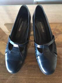 b0a617e1b Zapatos Ferraro Color Azul Talle 39