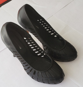 bd63ac466 Zapatos Ferraro Cuero Negro Talle 40 - Como Nuevos!