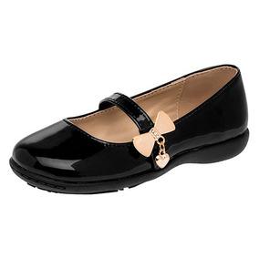 867038b1 Flats Fiesta Para Niña - Zapatos para Niñas Negro en Mercado Libre México