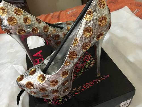 zapatos fiesta dama