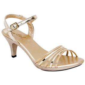 1a2b839e Zapato De Fiesta Color Oro - Zapatos Dorado en Mercado Libre México