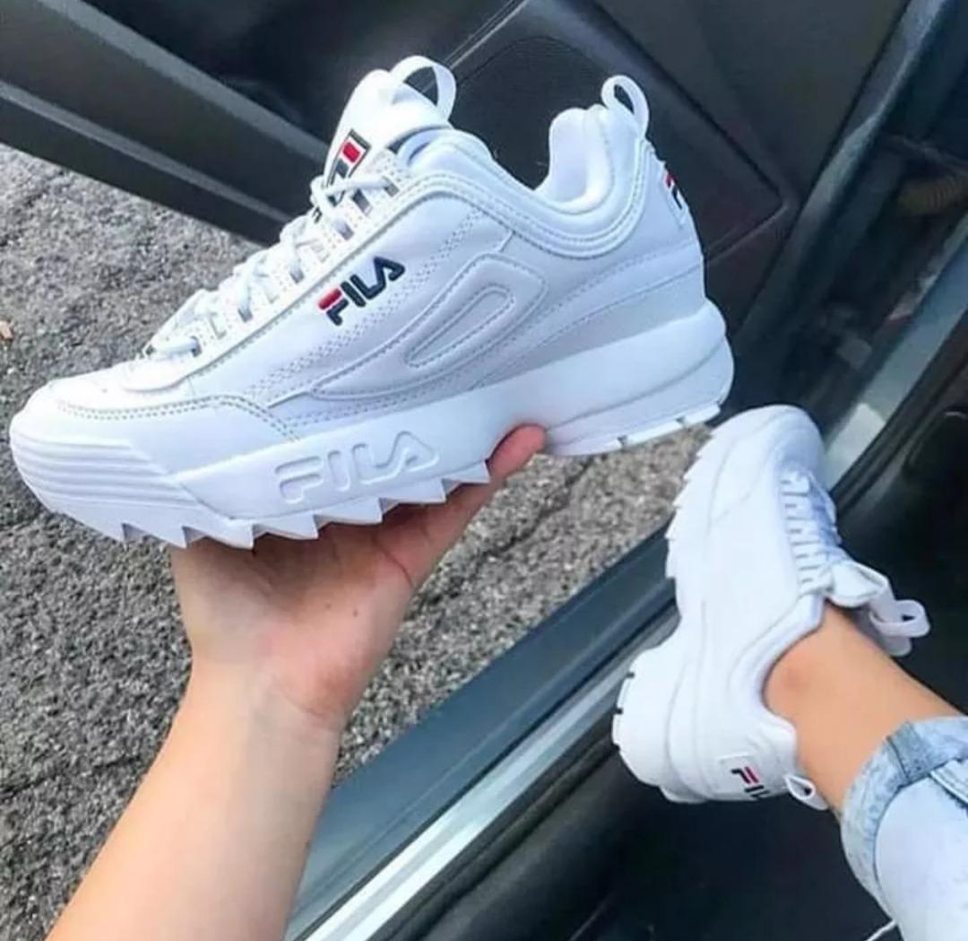 Fila Hombre Disruptor Ii Y Para Zapatos Mujer m0N8vnw