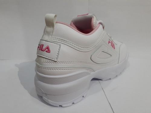 zapatos fila para damas