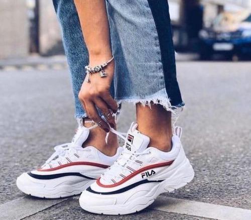 zapatos fila para mujer