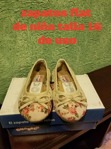 zapatos flat niña