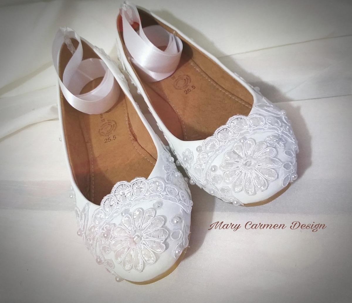 f160429f615 zapatos flats novia primera comunión estilo vintage encaje. Cargando zoom.