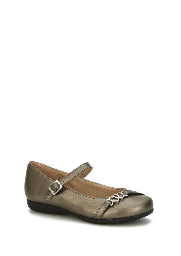 Zapatos Flats Plateados Niña Andrea 2516806 -   512.90 en Mercado Libre e629dd1c6aaf3
