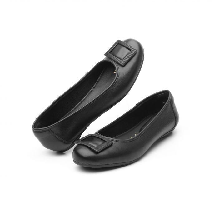 764ee951b49 Zapatos Flexi Flats Cómodas Negro Dama Bonitas Piel Cuero - $ 749.00 ...