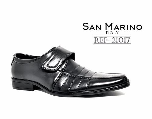 zapatos formal elegantes hombre san marino + regalo + envío