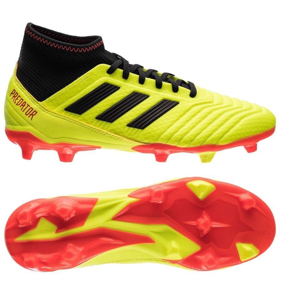 18 3 Zapatos Fútbol De Predator Fg Rincón Del Adidas BAAIS71Wq