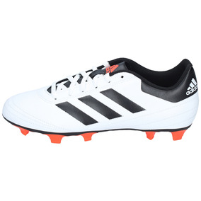 the best attitude 073c2 3f70e Zapatos Fútbol adidas Hombre Goleto Vi Blanco Negro-2967