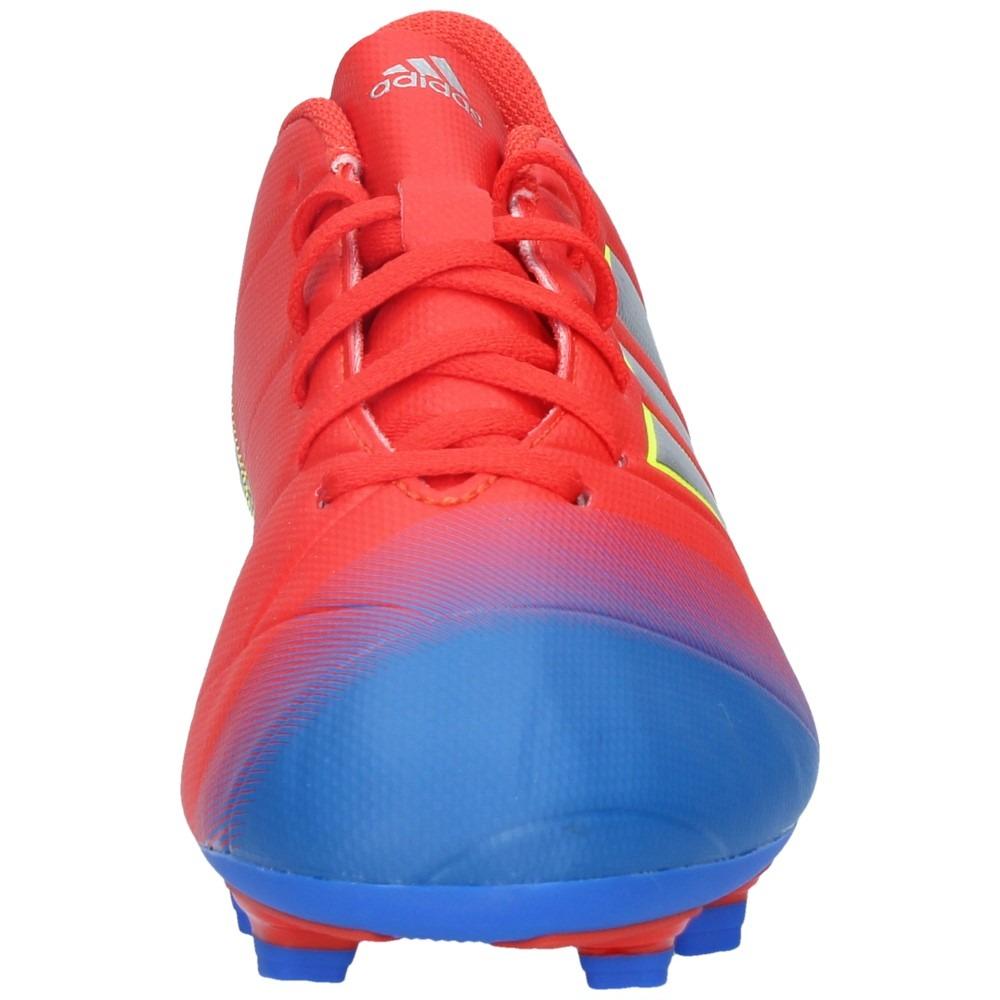 f01202887cd9b zapatos fútbol adidas hombre nemeziz messi 18-4 fxg rojoazul. Cargando zoom.