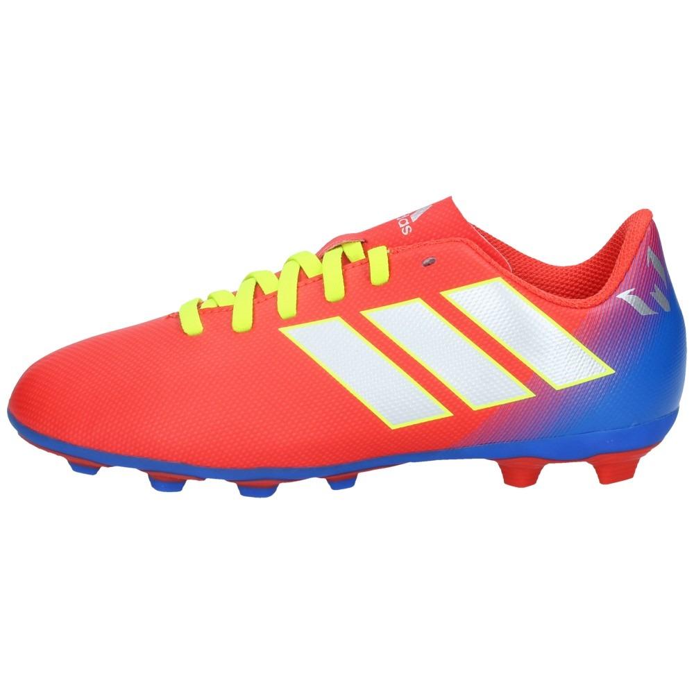 8818aae526616 Zapatos Fútbol adidas Niño Nemeziz Messi 18-4 Fxg Rojo-azul ...