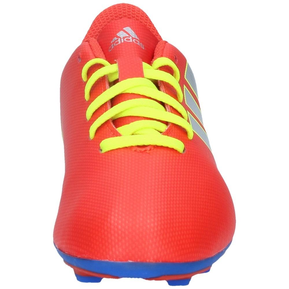 c73f7d3bf0c5f zapatos fútbol adidas niño nemeziz messi 18-4 fxg rojo-azul-. Cargando zoom.