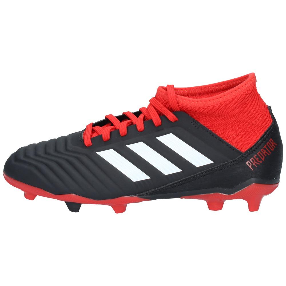 96bb9a5ec34 zapatos fútbol adidas niños predator 18-3 fg negro rojo-2731. Cargando zoom.