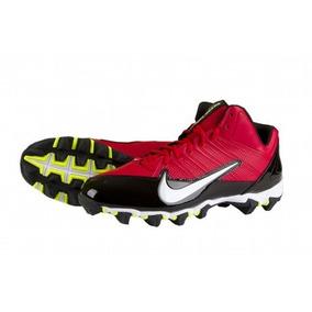 945463e8009a2 Nike Alpha Shark Tachones Football Beisbol Softbol Rojo 7.5