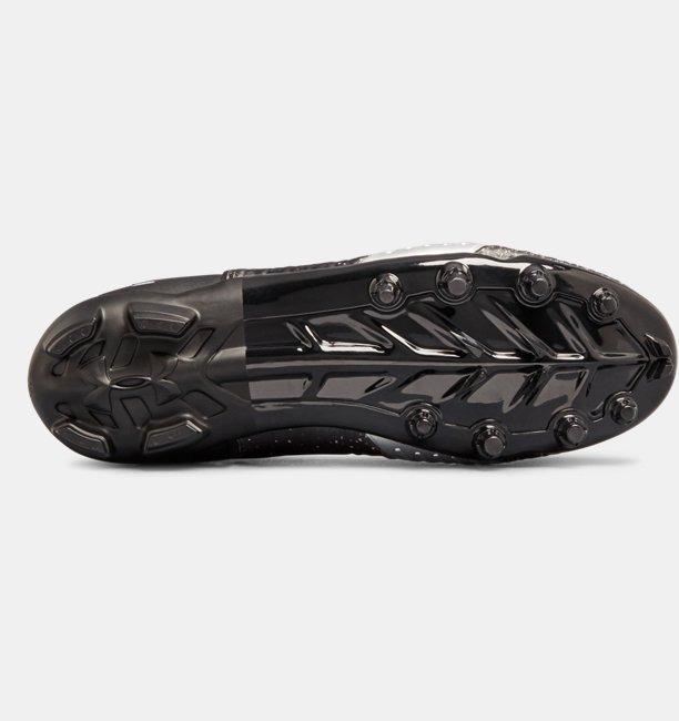... ua c1n mc negros para hombre. Cargando zoom... zapatos fútbol americano 681416bc25942