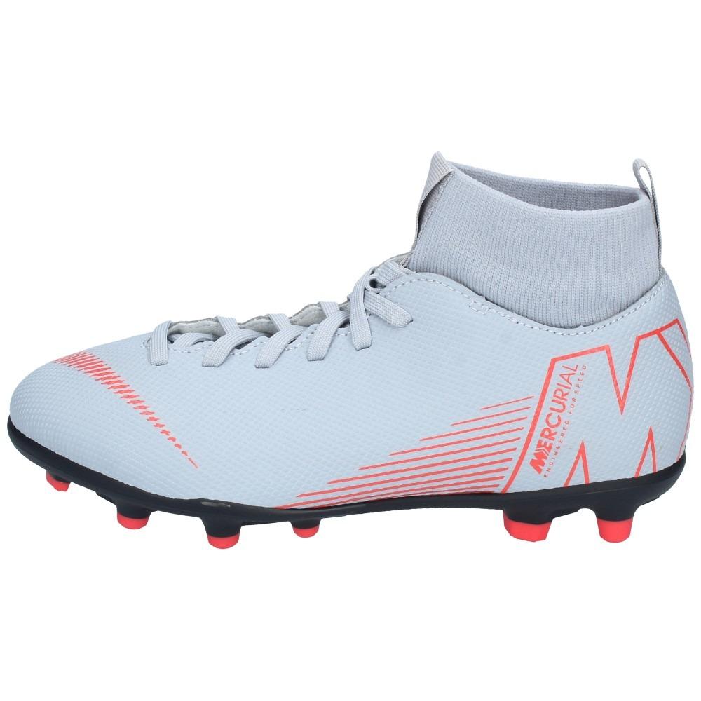 92287a9467 Zapatos Fútbol Nike Niños Superfly 6 Club Gris Rojo - $ 32.990 en ...