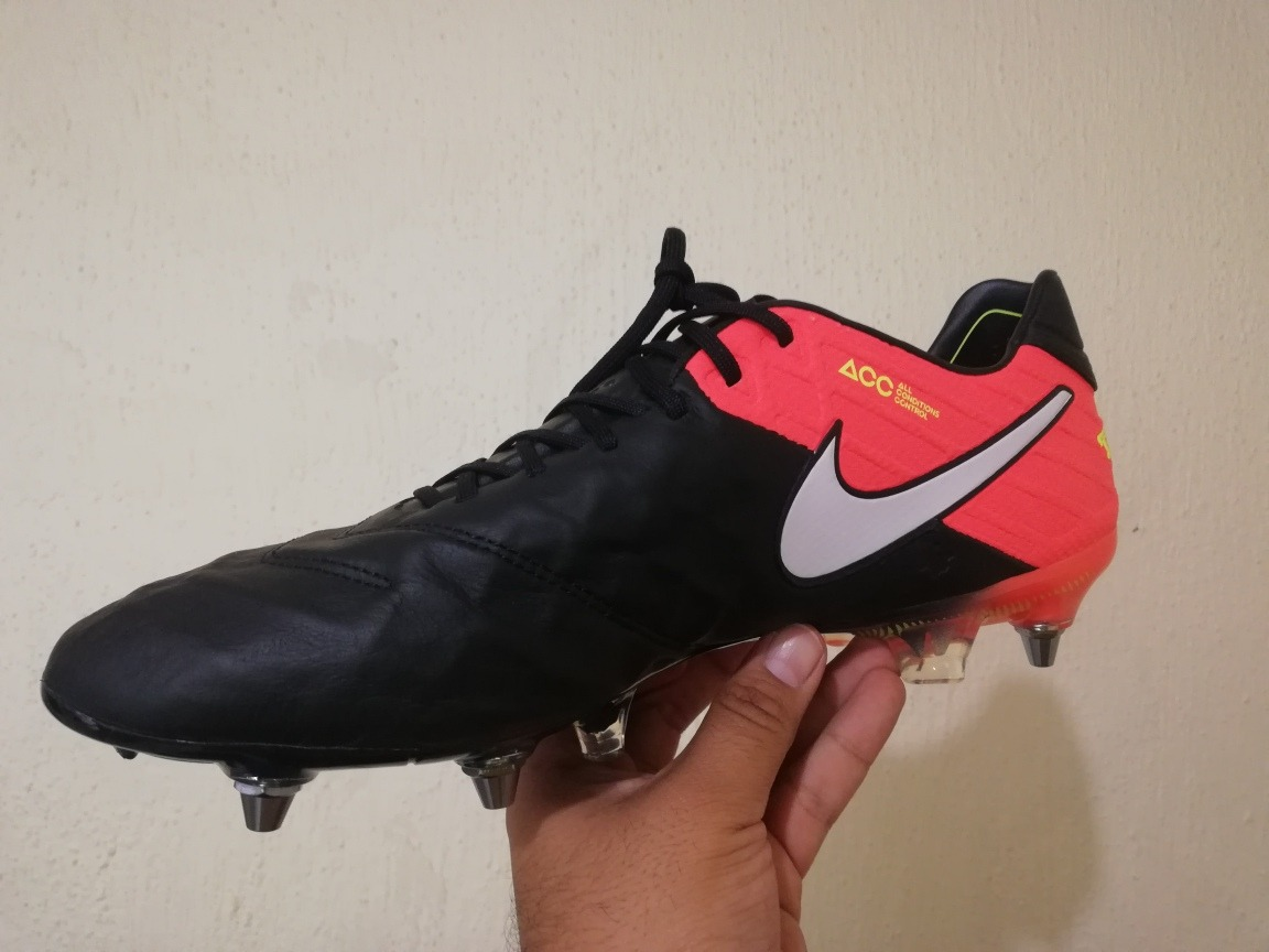 Zapatos Futbol Nike Tiempo Legend Acc Piel