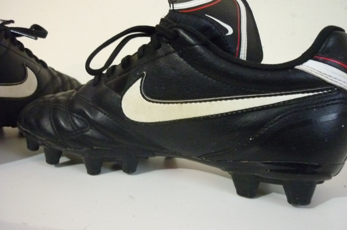 acef497e9f2ec Zapatos Futbol Nike Tiempo Talla 38.5 -   15.000 en Mercado Libre