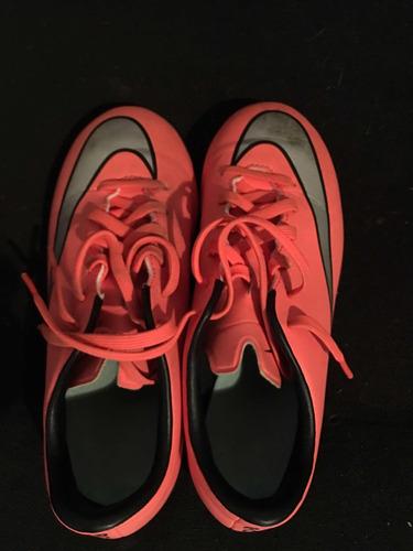 zapatos fútbol niños microtaco nike mercurial 33.5