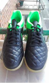 Zapatos Futbol Sala Nike Tiempo Tallas 37,5 23.5 Cms