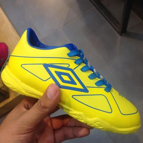 zapatos futbol sala  semitacos umbro exclusivos niños adulto