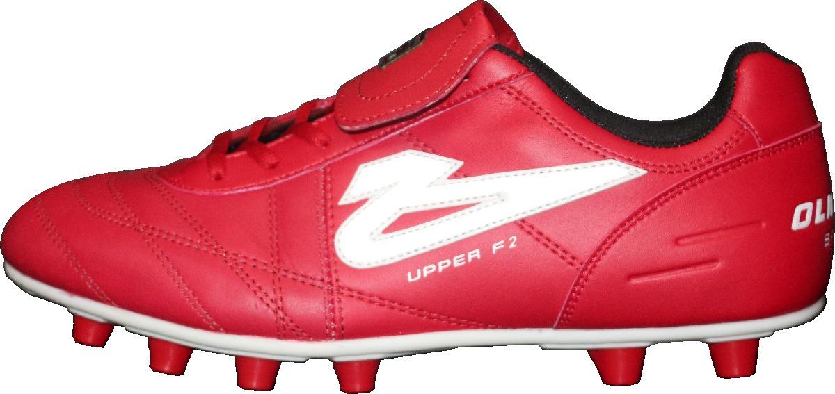 Zapatos Futbol Soccer Olmeca Upper Rojo En Piel mf -   689.00 en ... fe80086de51ad