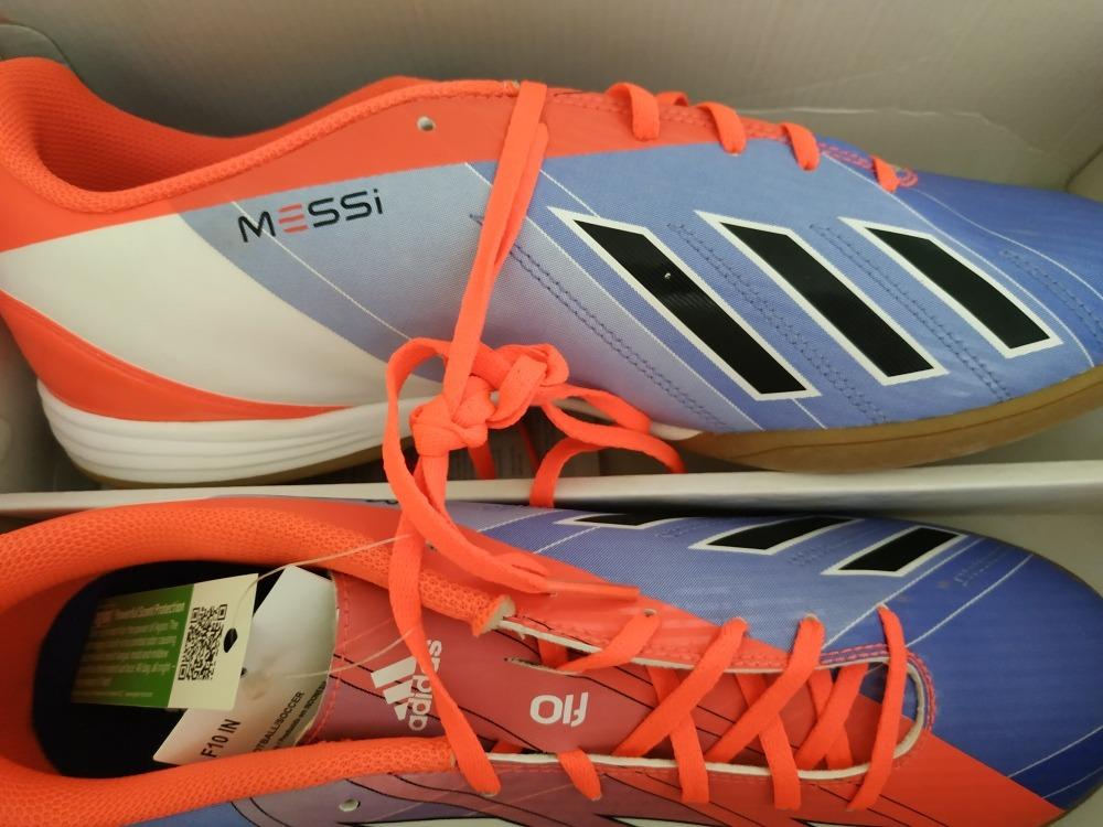 8c97d87591f50 zapatos futsal adidas messi talla 45 1 2 - nuevo. Cargando zoom.