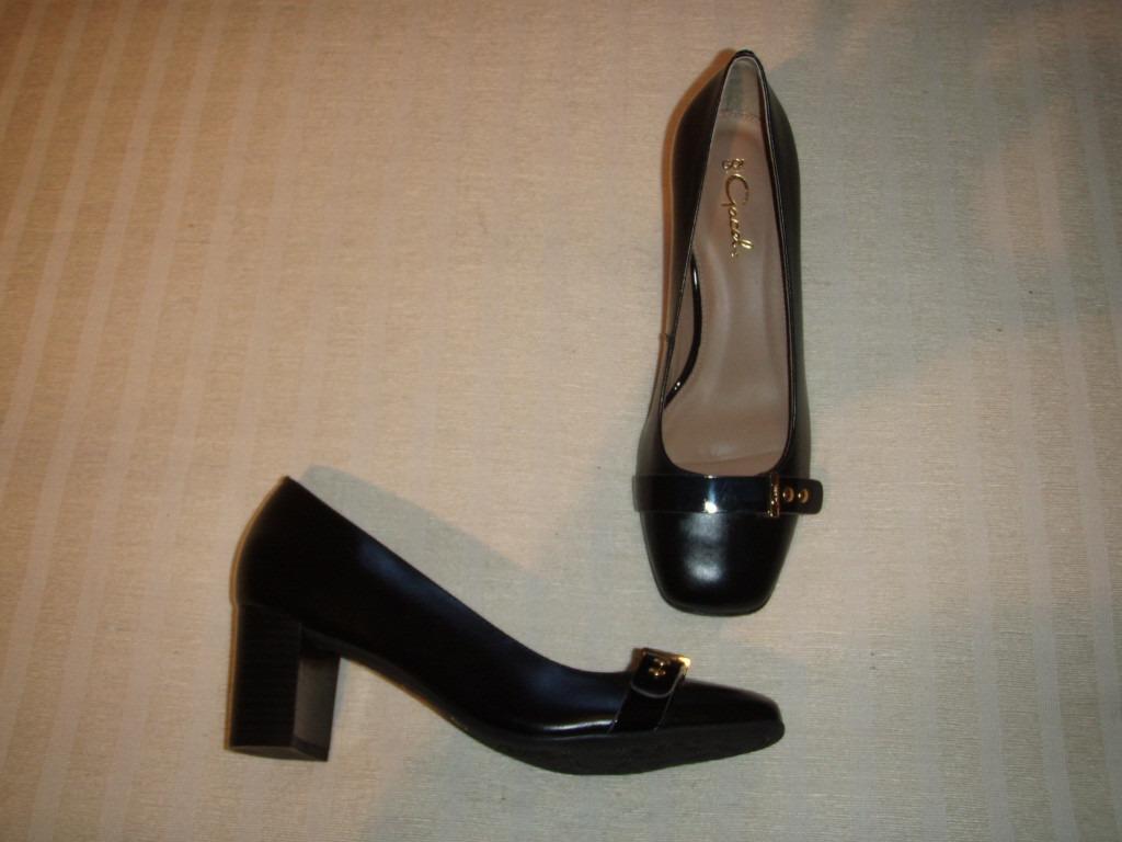 Zapatos Gacel De Cuero Y Taco Medio, 36. Color Negro N º 36. Medio,  29.900 b4773d