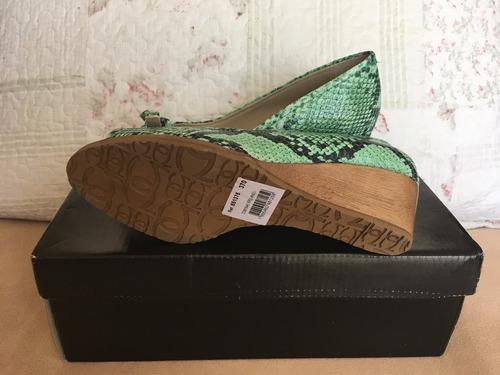 zapatos gacel esmeralda