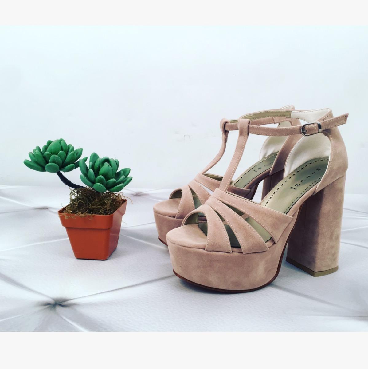 519d9d21e Zapatos Gala Calzado Fiesta Color Nude
