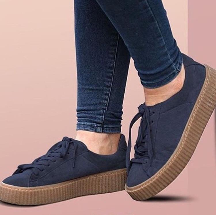 zapatos de plataforma vans mujer