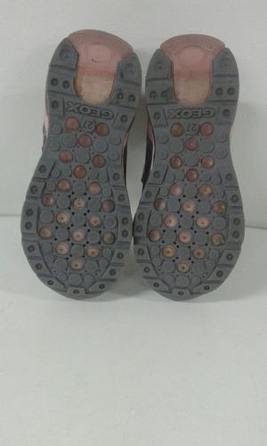 Con 27 Geox Luces Talla De Zapatos Niña WDHE9I2
