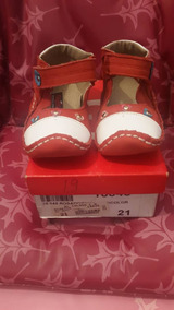 8a80d0fc5cf Zapatos Gigetto Niña Bebe Cuero Rojo Talla 21