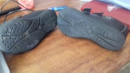 zapatos gigettos  negros de niña talla 27