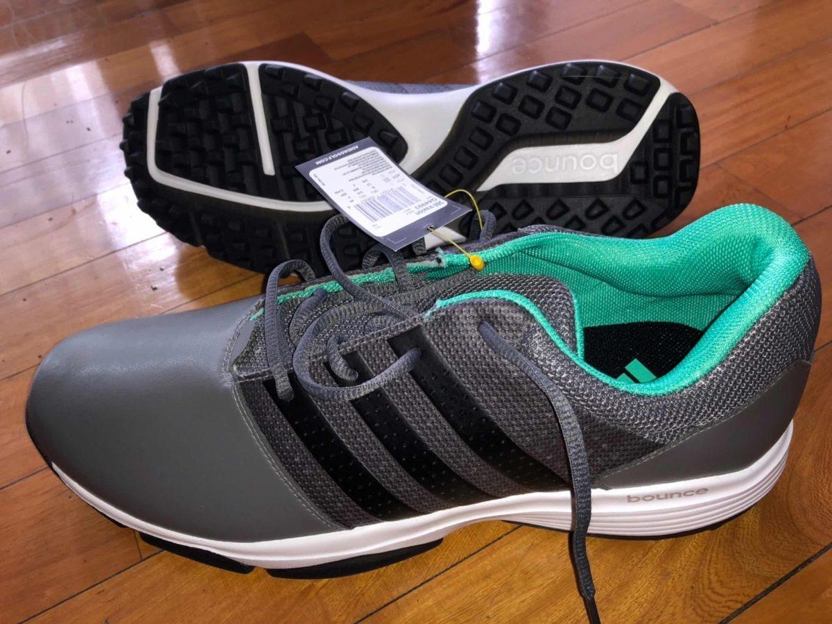 Zapatos Golf adidas Impermeables Modelo Traxion 360 Talle 13
