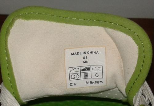 zapatos golf crocs  talla 8 americana casi nuevos