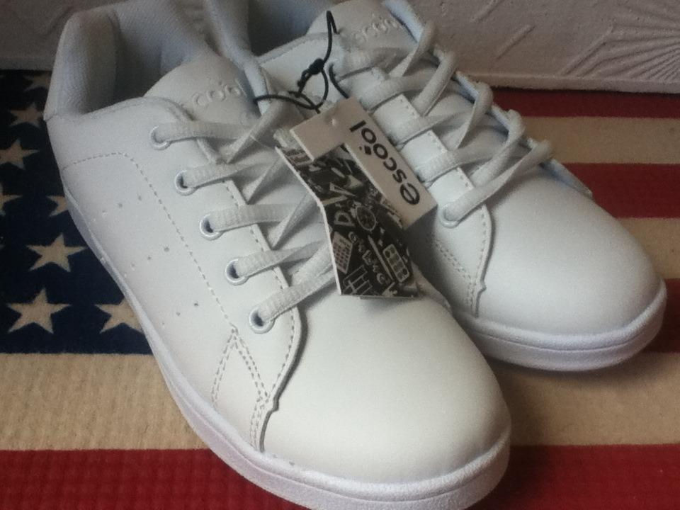 cffcd7893e2 niña Cargando deportivo zapatos gomas escolares blancas niño zoom qwgq1FXpYx