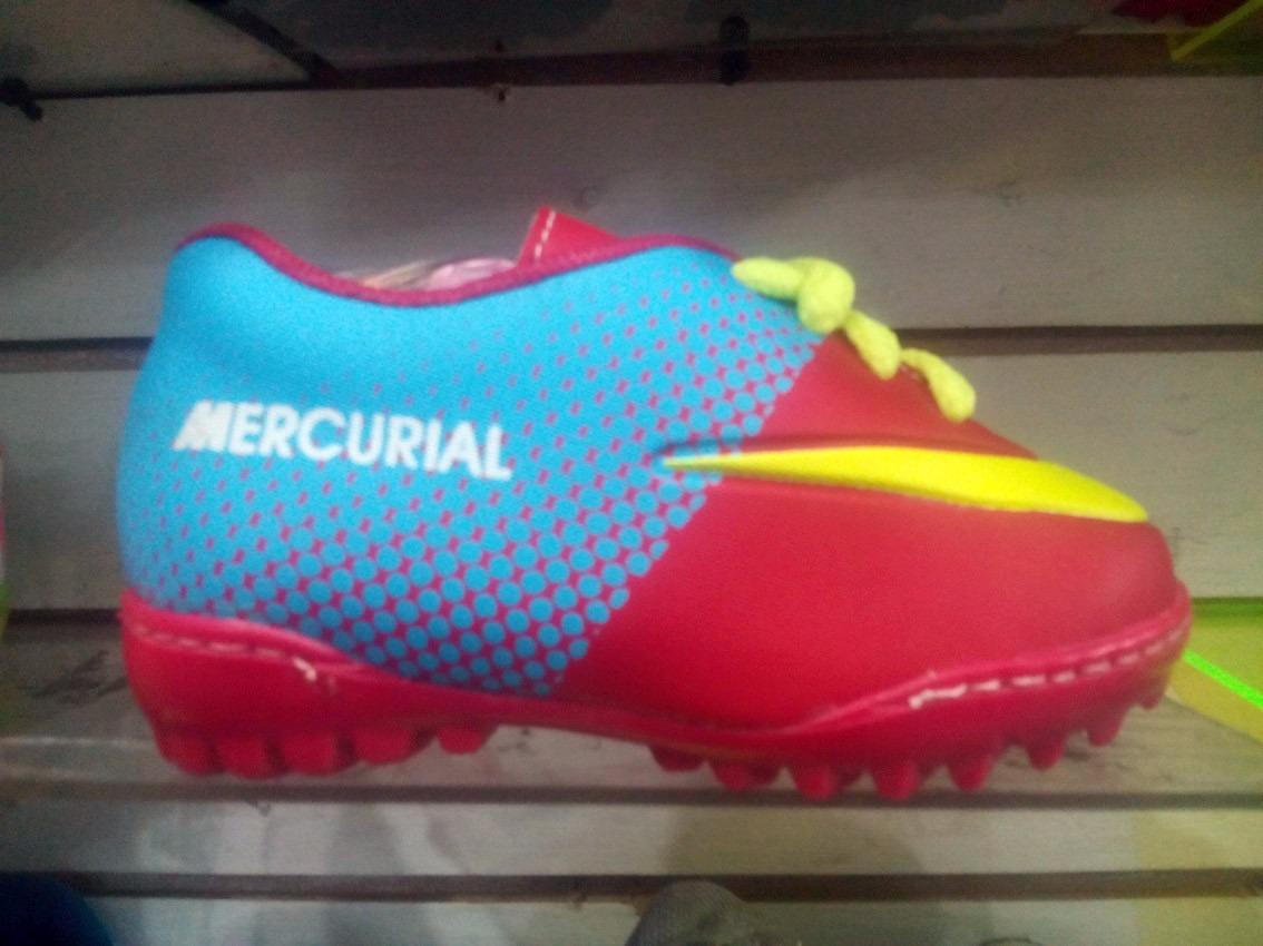 Zapatos Nike Para Gomas Mercurial Niños WIEH29DY