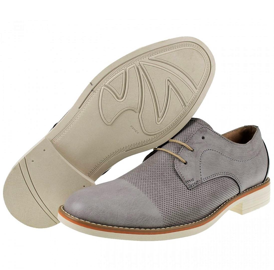 Grises Zapatos Tipo Piel Hombre 2019 BeWrCxoEQd