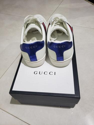 zapatos gucci, aaa, usados en caja talla 8.5 us