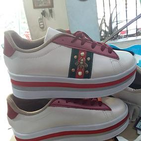 82165aa7e Zapatos De Plataforma Dama Gucci - Zapatos en Mercado Libre Venezuela